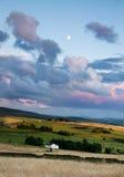 Ashton de lune de maison d'horizontal Photo stock