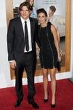 Ashton Kutcher & Demi Moore stock afbeeldingen