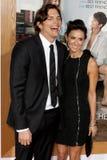 Ashton Kutcher & Demi Moore royalty-vrije stock foto