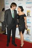 Ashton Kutcher, Demi Moore stock afbeeldingen