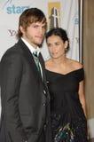Ashton Kutcher, Demi Moore royalty-vrije stock fotografie