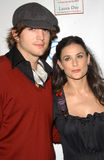 Demi Moore,Ashton Kutcher Royalty Free Stock Photography