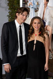 Ashton Kutcher & Natalie Portman Royalty Free Stock Photography