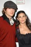 Demi Moore Ashton Kutcher Royaltyfri Fotografi