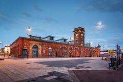 Ashton Market, Inghilterra fotografie stock libere da diritti