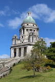 Ashton Memorial galenskap Williamson Park Lancaster Royaltyfri Foto