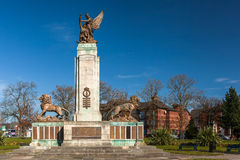 Ashton Under Lyne War Memorial Royalty Free Stock Photos