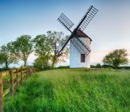 Ashton windmill Arkivfoton