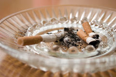 Ashtray Stock Photo
