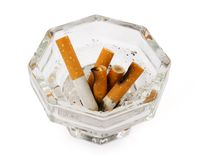 Ashtray Royalty Free Stock Photos