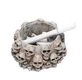 Ashtray with cigarette Royalty Free Stock Image