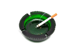 Ashtray and cigarette Royalty Free Stock Photos