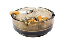 Ashtray with cigarette Stock Photos
