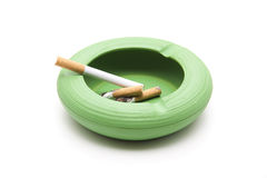 Ashtray with cigarettes Royalty Free Stock Images