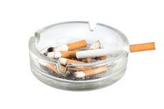 Ashtray and cigarettes close-up Stock Photo