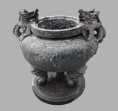 Ashtray at Fengdu County Royalty Free Stock Images