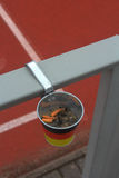 The ashtray Royalty Free Stock Photos