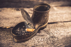 An ashtray Stock Photos