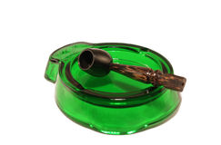 Ashtray and pipe Stock Photography