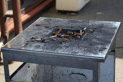ashtray społeczeństwo Zdjęcia Stock