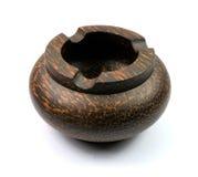 ashtray woodcutting Стоковая Фотография
