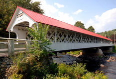 Ashuelot Covered Bridge Royalty Free Stock Photography