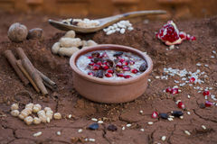 Ashura Ashure, Noah pudding Royaltyfri Foto