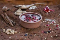 Ashura, Ashure, pudim de Noah Foto de Stock Royalty Free