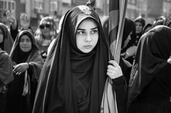 Ashura marks the Istanbul Muslim women community. Stock Images