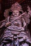 Ashurabeschermer van de grootste tempel van Nara ` s stock afbeeldingen