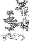 ashurbanipal иллюстрация штока