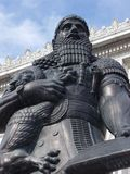 Ashurbanipal. An old statue of Ashurbanipal, King of the Assyrians Stock Images
