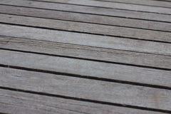 Ashy brun träplankabakgrund Arkivfoton