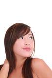 Asiático atractivo gallardo joven del retrato Imagen de archivo