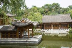 Asiático China, edificio antiguo, patio Fotos de archivo