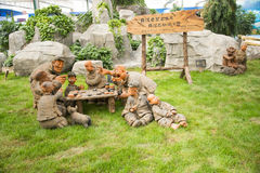Asiático China, Pekín, ¼ ŒClay, ajedrez de Carnivalï de la agricultura del juego Imagen de archivo