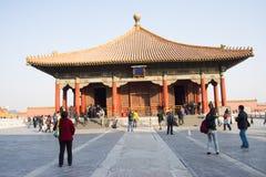 Asiático China, Pekín, edificios históricos, el palacio imperial Imagen de archivo