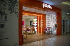 Asiático China, Pekín, Wangfujing, centro comercial de APM, tienda del diseño interior, Fotos de archivo libres de regalías