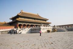 Asiático China, Pequim, construções históricas, o palácio imperial Fotografia de Stock