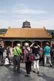 Asiático China, Pequim, o palácio de verão, YUN de Pai dian Imagens de Stock