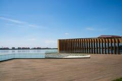 Asiático China, Tianjin, Wuqing, expo verde, sala de exposiciones Fotos de archivo