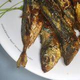 Asiático Fried Fish Fotografia de Stock Royalty Free