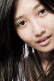 Asiático hermoso Fotos de archivo