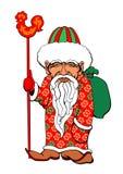 Asiático Santa Imagens de Stock Royalty Free
