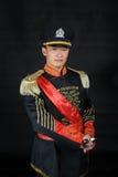 Asiático vestido na roupa do Ocidental-estilo Fotografia de Stock Royalty Free