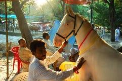 Asia's biggest cattle fair. Stock Image
