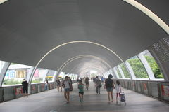Asia,china,shenzhen,The Modern vaulted passage Royalty Free Stock Photography