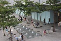 Asia,china,Shenzhen,the Yitian holiday Square Stock Photo