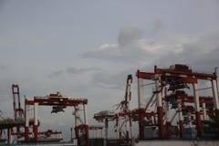 Asia�china�Shenzhen Merchants harbor Royalty Free Stock Images