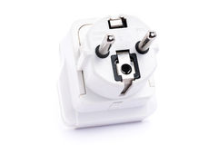 Asia adapter plug Royalty Free Stock Photo